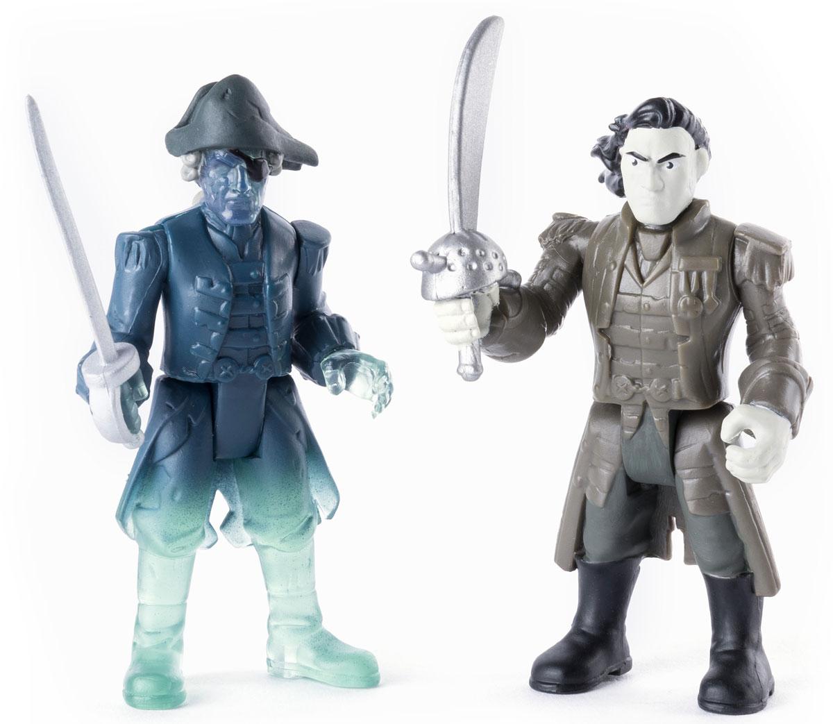 Pirates of Caribbean Набор фигурок Captain Salazar & Ghost Crewman черная жемчужина корабль капитана джека воробья