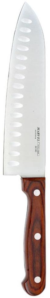 Нож сантоку Marvel, длина лезвия 18,5 см нож для нарезки мяса marvel santoku series цвет серый длина лезвия 20 5 см 87313