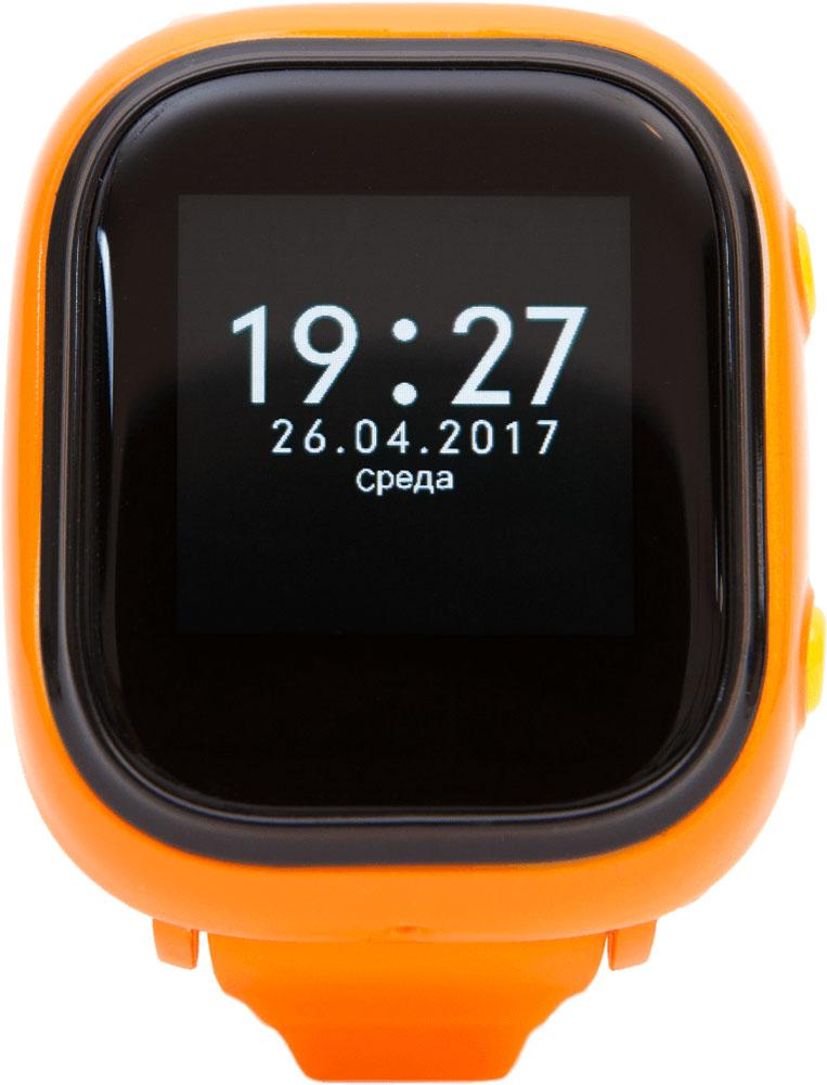 EnBe Children Watch умные детские часы с GPS трекером, Orange, EnBe (Enjoy the Best)