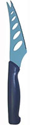 Нож для сыра Atlantis 13см 5Z-B5Z-BНож для сыра Atlantis превосходно подходит для нарезки твердых и мягких сыров, также на конце лезвия имеется вилка - для сервировки сыра. Нож обработан специальным антибактериальным покрытием Microban.Покрытие Microban - самое надежное в мире средство для защиты от бактерий, грибков, плесени и запахов. Действует постоянно, даже после мытья, обеспечивая большую защиту ножа. Антибактериальная защита работает на протяжении всего срока службы ножа. Особенности ножа Atlantis: японская высокоуглеродистая нержавеющая стальпрочный и острый клинокпластиковая ручка с антибактериальной защитой Microbanэргономический дизайн ручкибезопасное и прочное покрытие лезвия, не дающее пище прилипать к ножукрасивое сочетание цветов ручки и лезвия. Характеристики: Материал: нержавеющая сталь, пластик. Длина: 13 см. Цвет: синий. Производитель: Китай. Артикул: 5Z-B.
