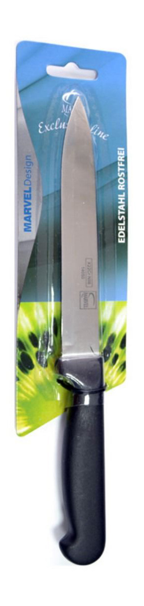 Нож для мяса Marvel Econom, длина лезвия 13 см. 1405014050Нож Marvel изготовлен из высококачественной стали. Рукоятка не скользит в руке и делает резку удобной и безопасной. Этот нож идеально подходит для нарезки мяса. Он займет достойное место среди аксессуаров на вашей кухне.