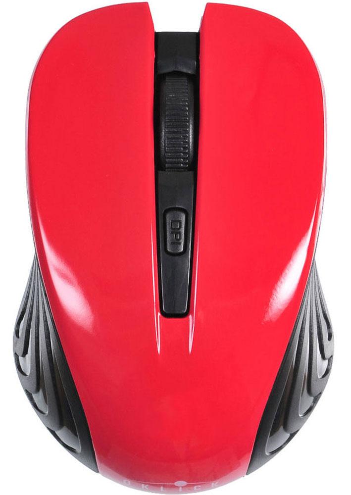 Oklick 545MW, Black Red игровая мышь