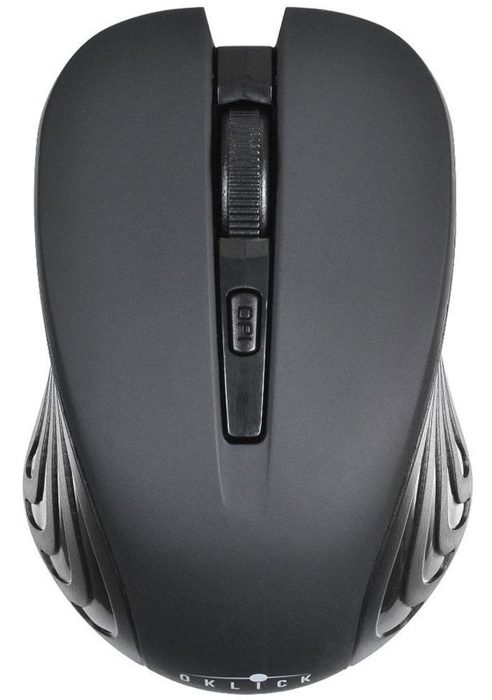 Oklick 545MW, Black игровая мышь545MWМышь Oklick 545MW представляет собой доступное и удобное периферийное устройство для настольного ПК или ноутбука.Благодаря беспроводной технологии вы можете использовать представленную модель не только на рабочем месте, но также в поездках или командировках. Компактные размеры корпуса позволяют без труда уместить мышь в стандартной сумке для ноутбука или рюкзаке.Мышь подключается к компьютеру посредством радио-соединения, это дает возможность использовать манипулятор на расстоянии до 10 метров от источника приема сигнала.Разрешение сенсора составляет 1600 dpi, что обеспечивает высокую точность позиционирования курсора и возможность работы на ограниченном пространстве. Для удобства работы предусмотрено несколько режимов чувствительности сенсора.