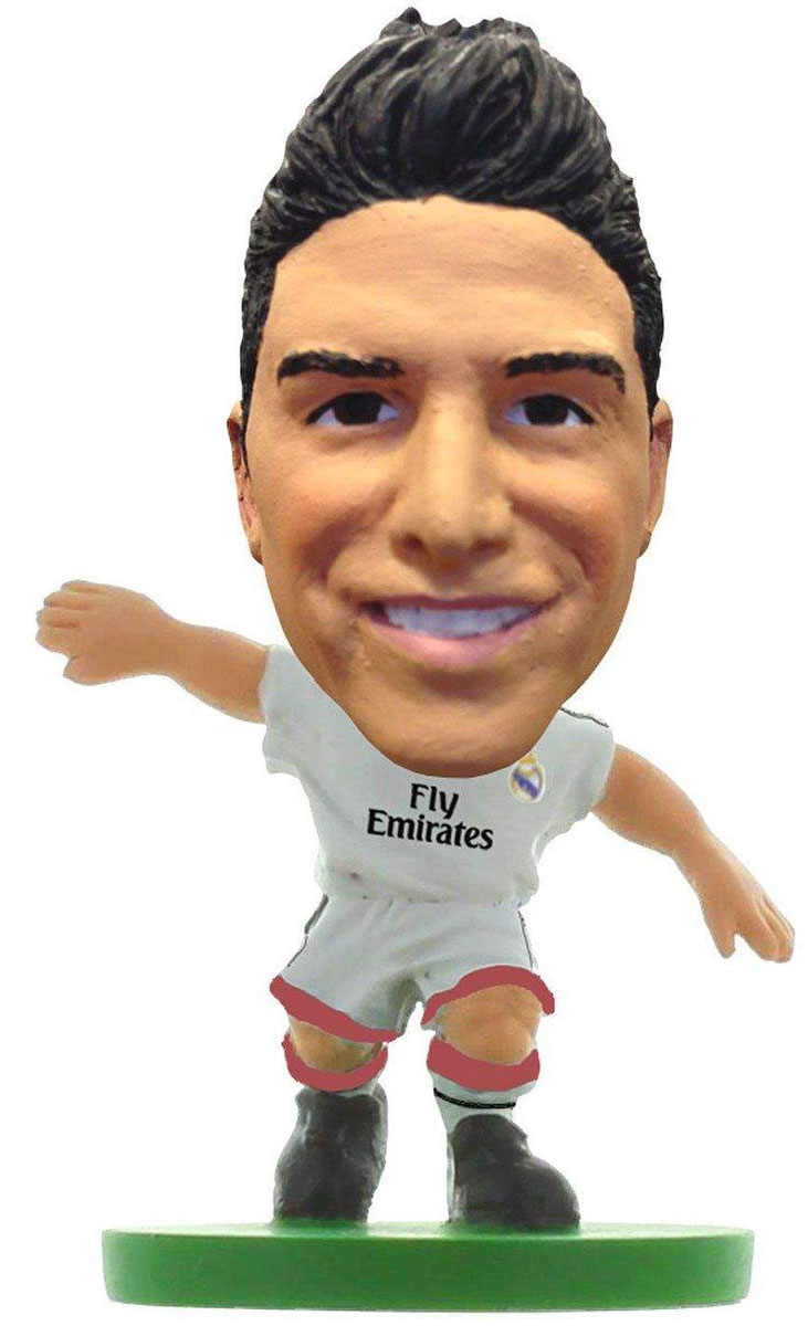 Soccerstarz Фигурка футболиста FC Real Madrid James Rodriguez фигурка футболиста fc real madrid асьер ильяраменди
