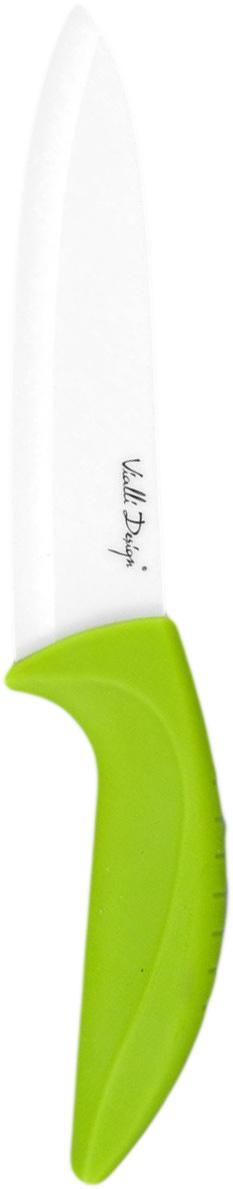 Нож керамический MoulinVilla Vialli Design, длина лезвия 15 смW150AGУниверсальный нож MOULINvilla Vialli Design изготовлен из высококачественной циркониевой керамики - гигиеничного, экологически чистого материала. Нож имеет острое лезвие, не требующее дополнительной заточки. Эргономичная рукоятка, выполненная из высококачественного пищевого пластика, не скользит в руках и делает резку удобной и безопасной.Нож подойдет для нарезки овощей, фруктов, рыбы и мяса без костей. Керамика - это отличная альтернатива металлу. В отличие от стальных ножей, керамические ножи не переносят ионы металла в пищу, не разрушаются от кислот овощей и фруктов и никогда не заржавеют. Этот нож будет служить вам многие годы при соблюдении простых правил эксплуатации и ухода.Нельзя мыть в посудомоечной машине.
