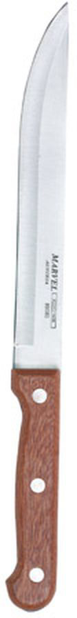 """Нож Marvel """"Rose Wood"""" изготовлен из высококачественной стали. Рукоятка выполнена из дерева. Она не скользит в руке и делает резку удобной и безопасной. Этот нож идеально подходит для нарезки мяса. Он займет достойное место среди аксессуаров на вашей кухне. Общая длина ножа: 25 см."""