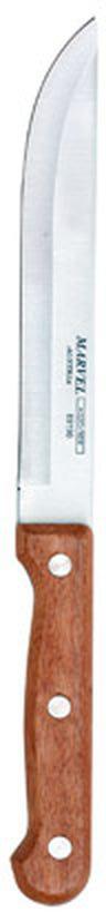 Нож для мяса Marvel Rose Wood, длина лезвия 13 см89190Нож Marvel Rose Wood изготовлен из высококачественной стали. Рукоятка выполнена из дерева. Она не скользит в руке и делает резку удобной и безопасной. Этот нож идеально подходит для нарезки мяса. Он займет достойное место среди аксессуаров на вашей кухне. Общая длина ножа: 23 см.