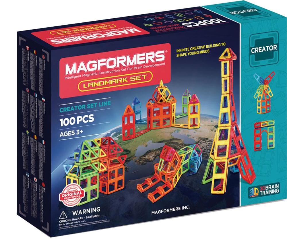 Magformers Магнитный конструктор Landmark Set magformers магнитный конструктор creative 90