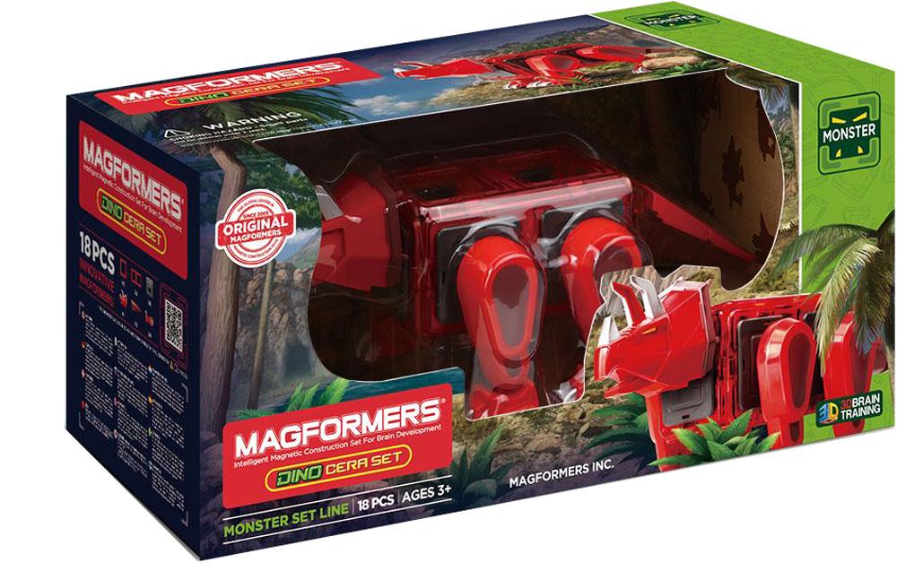 Magformers Магнитный конструктор Dino Cera Set magformers конструктор