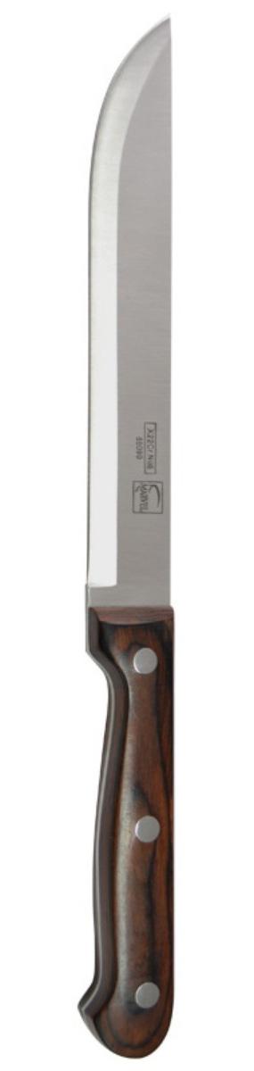 Нож для мяса Marvel Rose Wood Original, длина лезвия 17 см. 8509085090Нож Marvel изготовлен из высококачественной стали. Рукоятка не скользит в руке и делает резку удобной и безопасной. Этот нож идеально подходит для нарезки мяса. Он займет достойное место среди аксессуаров на вашей кухне.