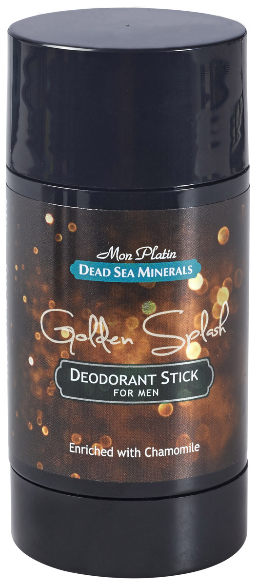 Mon Platin дезодорант для мужчин Dead Sea Minerals Golden Splash, 80 мл набор крем sea of spa bio marine dead sea minerals 4 in 1 skin care kit