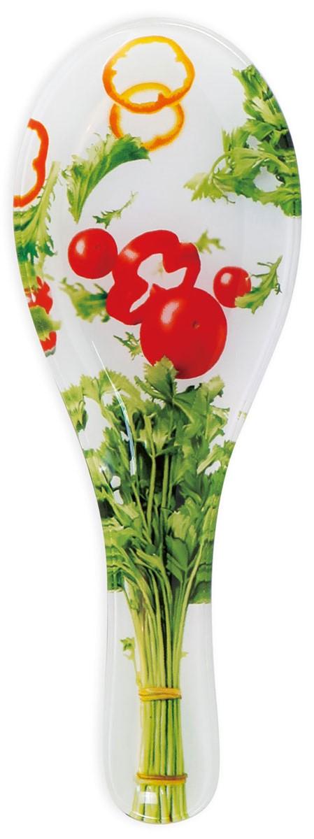 """Подставка под ложку """"ТМ La Vita"""" пригодится на каждой кухне и оживит интерьер. Она выполнена из стекла. Подставка под ложку станет отличным подарком для ваших близких!"""