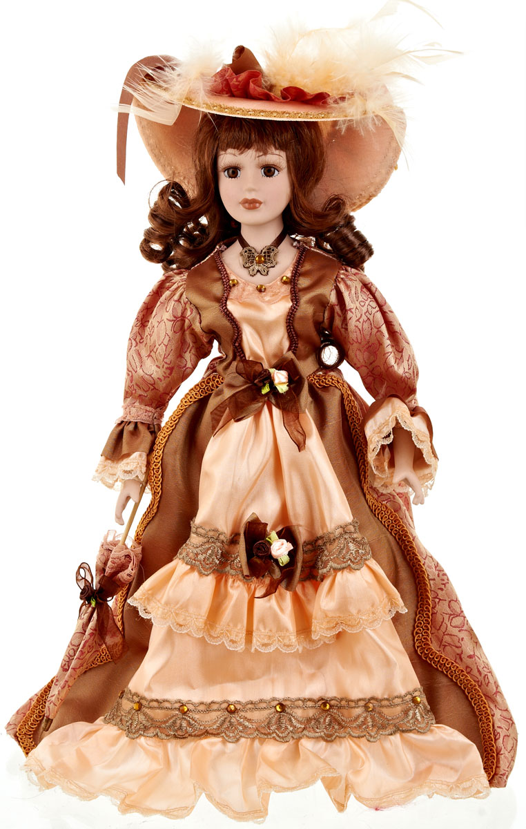 Кукла коллекционная ArtHouse Светлана, высота 36,5 см9960018Великолепная кукла Светлана, выполненная из фарфора, займет достойное место в вашей коллекции.Кукла максимально приближена к живому прототипу - юной леди с румянцем на щеках. Туловище куклы мягконабивное. Наряжена кукла в шикарное платье, выполненное из атласа, кружева и органзы. Для более удобного расположения куклы в интерьере прилагается удобная подставка.