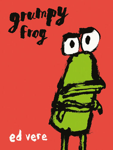 Grumpy Frog the mammoth book of best new horror