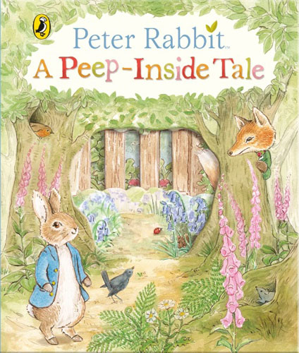 Peter Rabbit: A Peep-Inside Tale the spectacular tale of peter rabbit cd
