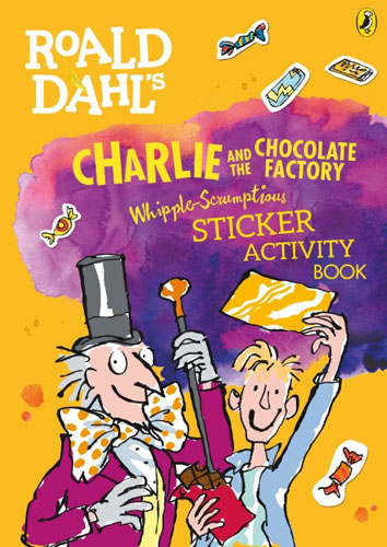 Фото - Roald Dahl's Whipple-Scrumptious Charlie and the Chocolate Factory Sticker Activity Book concise colour block and circle pattern design men s slippers