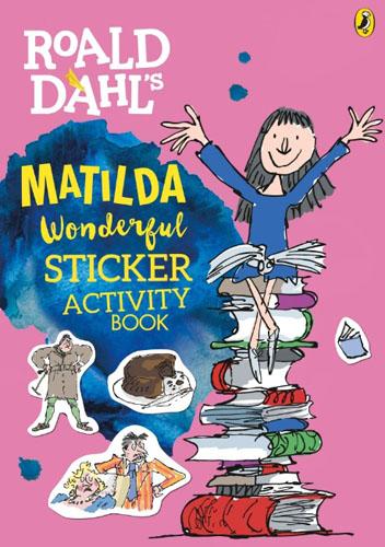 Roald Dahl's Wonderful Matilda Sticker Activity Book bin weevils sticker activity book