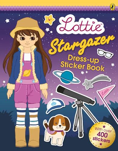 Lottie Dolls: Stargazer Lottie's Sticker Dress-up Book sticker dolly dressing fancy dress