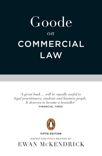 Goode on Commercial Law muhammad saleem yusuf islamic commercial law