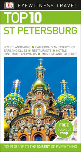 DK Eyewitness Top 10 Travel Guide St Petersburg the rough guide to st petersburg