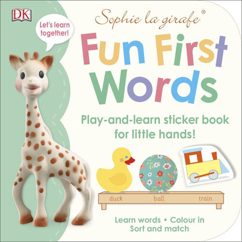 Sophie's Big Fun First Words Sticker Book first sticker book cities of the world
