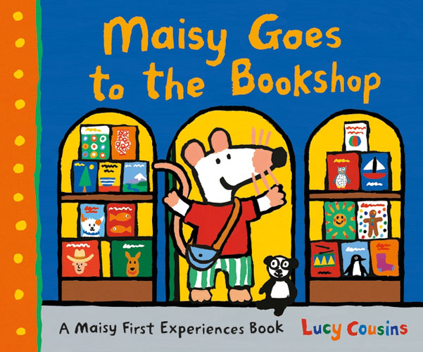 Maisy Goes to the Bookshop maisy s farm sticker book