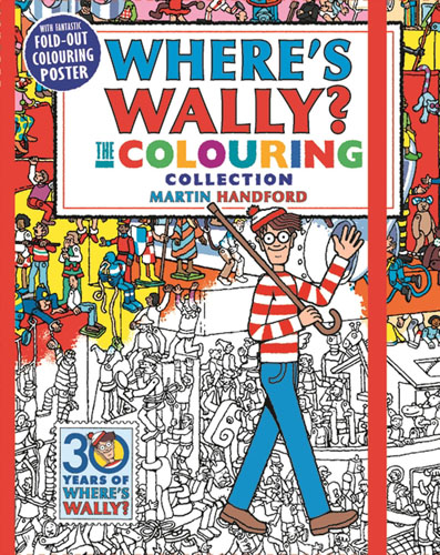 Where's Wally? The Colouring Collection wally olins the brand handbook