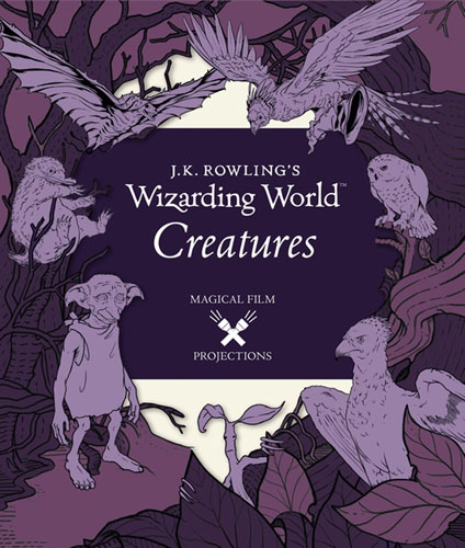 J.K. Rowling's Wizarding World: Magical Film Projections: Creatures uk standard luxury gold switch panel 86 86mm wall switch 110 250v touch swich 4 gang 2 way wireless home light switch