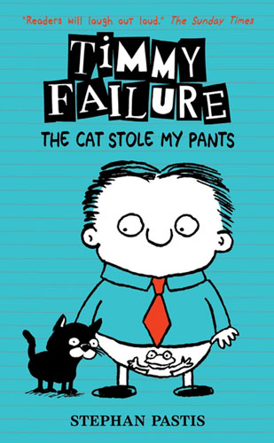 Timmy Failure: The Cat Stole My Pants a cat a hat and a piece of string