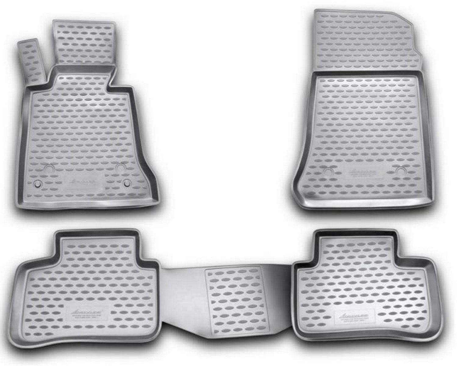 Коврики в салон автомобиля Novline-Autofamily для Mercedes-Benz GLK x204, 2008 -, 4 штNLC.34.22.210kКоврики Novline-Autofamily улучшат внешний вид салона автомобиля и надежно уберегут его от пыли, грязи и сырости, а значит, защитят кузов от коррозии. Полиуретановые коврики гладкие, приятные и не пропускает влагу. Полиуретановые автомобильные коврики произведены из высококачественного материала, который держит форму и не пачкает обувь. Коврики надежно крепятся на полу и не скользят, что очень важно во время движения, особенно для водителя. Изделия из полиуретана надежно удерживают грязь и влагу, при этом всегда выглядят довольно опрятно. И чистятся они очень просто: как при помощи автомобильного пылесоса, так и различными моющими средствами.