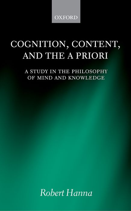 Cognition, Content, and the A Priori the handbook of translation and cognition