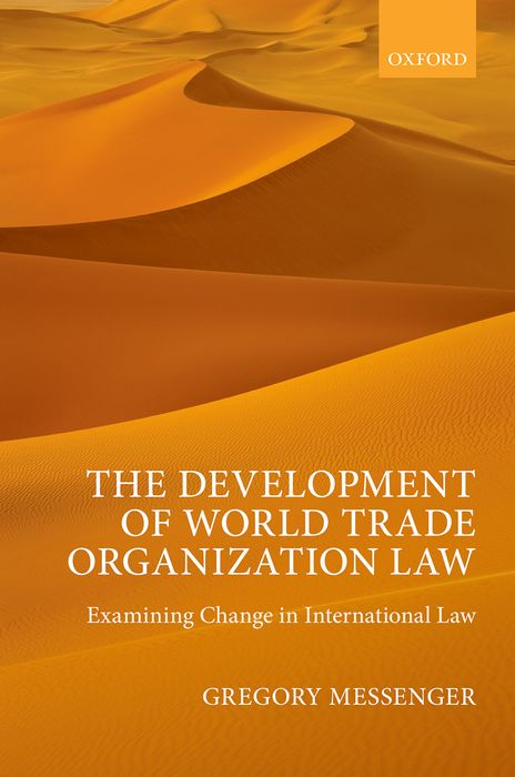 The Development of World Trade Organization Law mike bellafiore one good trade inside the highly competitive world of proprietary trading