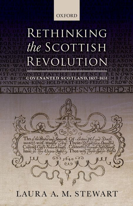 Rethinking the Scottish Revolution affair of state an