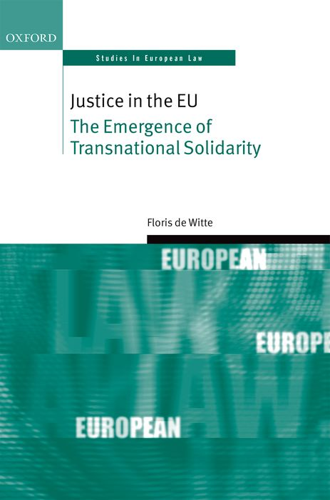 Justice in the EU the regulation of the state in competitive markets in the eu