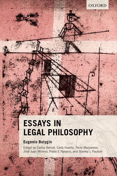 Essays in Legal Philosophy essays in the philosophy of chemistry