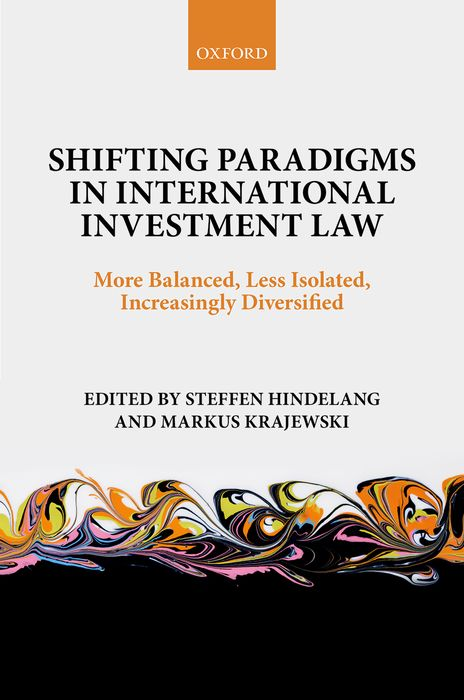 Shifting Paradigms in International Investment Law advances in parasitology 50