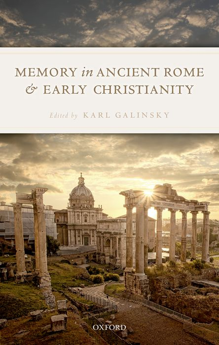 цены Memory in Ancient Rome and Early Christianity