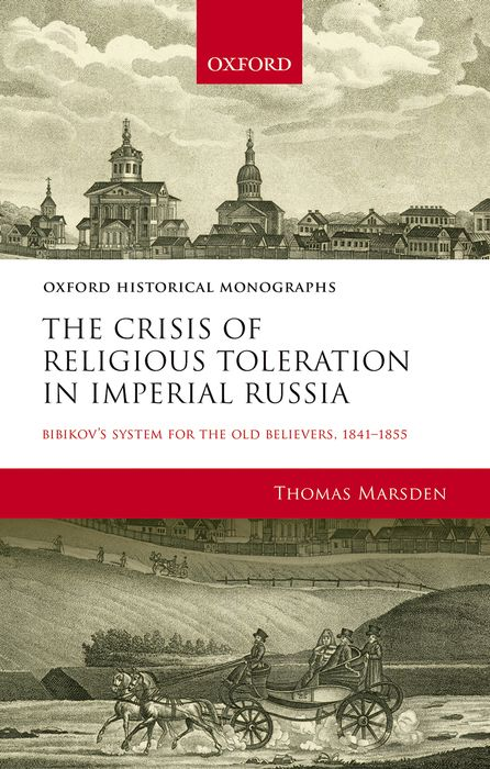 The Crisis of Religious Toleration in Imperial Russia the identity of the i of the confessions of jeremiah