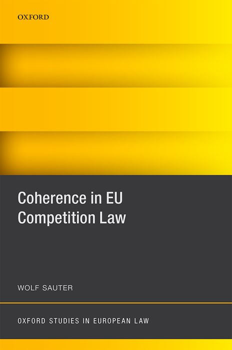 Coherence in EU Competition Law coherence in eu competition law