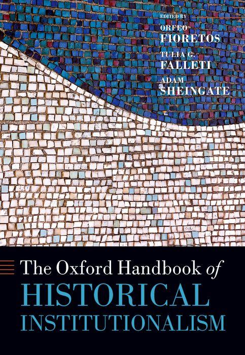 The Oxford Handbook of Historical Institutionalism the oxford handbook of language and society