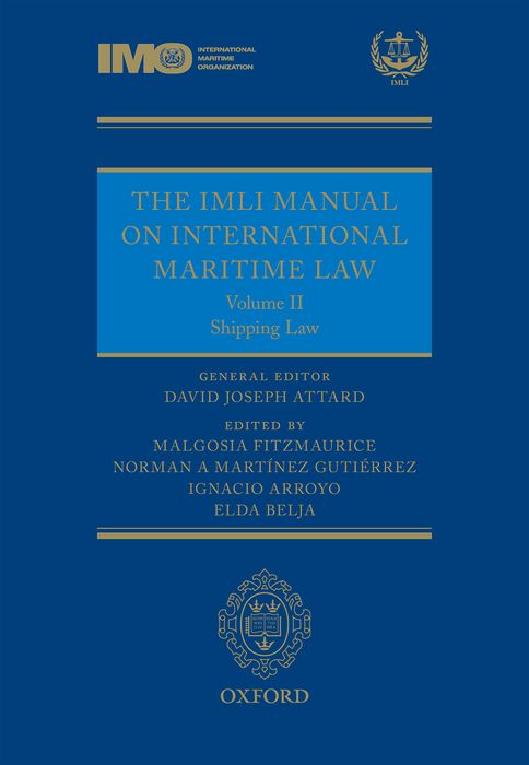 The IMLI Manual on International Maritime Law daniel bodansky the art and craft of international environmental law