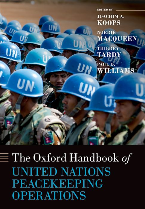 Zakazat.ru The Oxford Handbook of United Nations Peacekeeping Operations