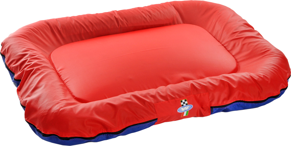 Лежак для собак GLG Ортопедический, со съемным чехлом, 130 х 100 х 12 см ортопедический матрас в краснодаре