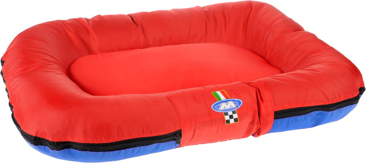 Лежак для собак GLG Ортопедический, со съемным чехлом, 96 х 67 х 12 см ортопедический матрас в краснодаре