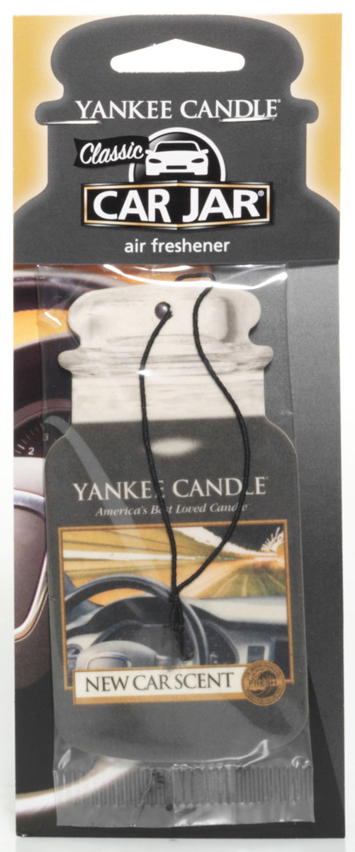 Ароматизатор автомобильный Yankee Candle Запах новой машины, сухой1215384EПодвесной картонный ароматизатор Yankee Candle наполнит ваш автомобиль неповторимым ароматом нового автомобиля. Пусть ваша машина всегда пахнет, как новая! Конечно, у всех разные ассоциации с тем, как может пахнуть новый автомобиль. Аромат немного цветочный, немного свежий и душистый. Подойдет в качестве подарка как мужчине, так и женщине. Продукция для автомобиля от Yankee Candle прекрасно ароматизирует маленькие пространства, при этом не обладает навязчивым запахом, от которого нужно будет проветривать ваш автомобиль. Ароматизатор прослужит вам около 4 недель.