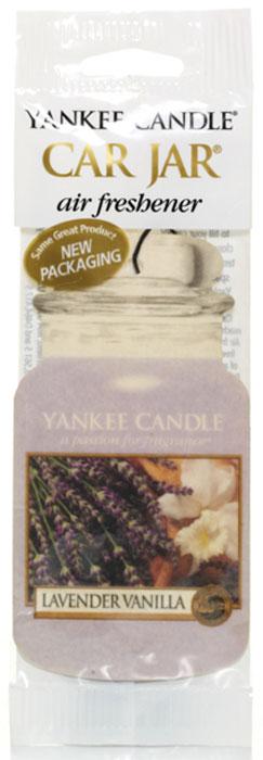 Ароматизатор автомобильный Yankee Candle Лаванда и ваниль, сухой секция с запахом лаванды