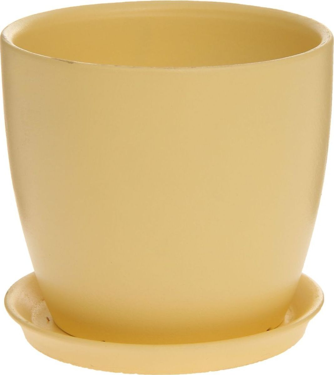 Кашпо Керамика ручной работы Осень. Глянец, цвет: желтый, 1 л1170280Комнатные растения — всеобщие любимцы. Они радуют глаз, насыщают помещение кислородом и украшают пространство. Каждому из них необходим свой удобный и красивый дом. Кашпо из керамики прекрасно подходят для высадки растений: за счёт пластичности глины и разных способов обработки существует великое множество форм и дизайновпористый материал позволяет испаряться лишней влагевоздух, необходимый для дыхания корней, проникает сквозь керамические стенки! #name# позаботится о зелёном питомце, освежит интерьер и подчеркнёт его стиль.