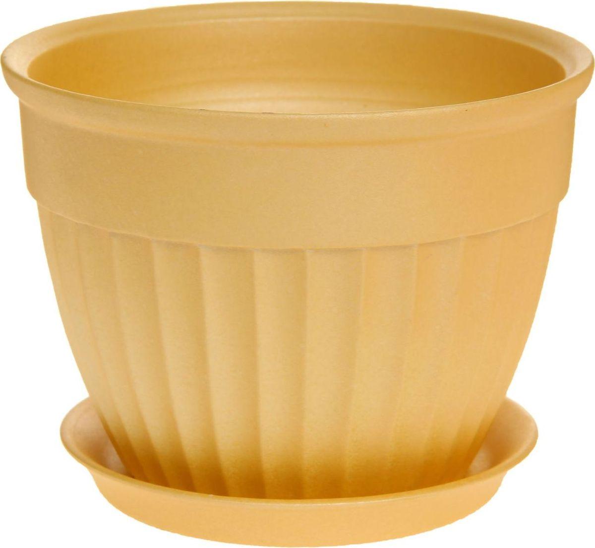 Кашпо Керамика ручной работы Ромашка, цвет: желтый, 2 л1170394Комнатные растения — всеобщие любимцы. Они радуют глаз, насыщают помещение кислородом и украшают пространство. Каждому из них необходим свой удобный и красивый дом. Кашпо из керамики прекрасно подходят для высадки растений: за счёт пластичности глины и разных способов обработки существует великое множество форм и дизайновпористый материал позволяет испаряться лишней влагевоздух, необходимый для дыхания корней, проникает сквозь керамические стенки! #name# позаботится о зелёном питомце, освежит интерьер и подчеркнёт его стиль.