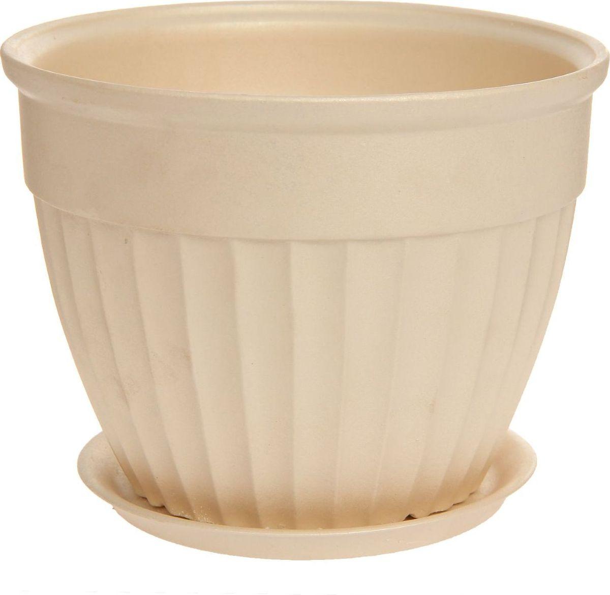 Кашпо Керамика ручной работы Ромашка, цвет: перламутровый, 21 х 21 х 16 см1170402Комнатные растения — всеобщие любимцы. Они радуют глаз, насыщают помещение кислородом и украшают пространство. Каждому из них необходим свой удобный и красивый дом. Кашпо из керамики прекрасно подходят для высадки растений: за счет пластичности глины и разных способов обработки существует великое множество форм и дизайнов пористый материал позволяет испаряться лишней влаге воздух, необходимый для дыхания корней, проникает сквозь керамические стенки! позаботится о зеленом питомце, освежит интерьер и подчеркнет его стиль.