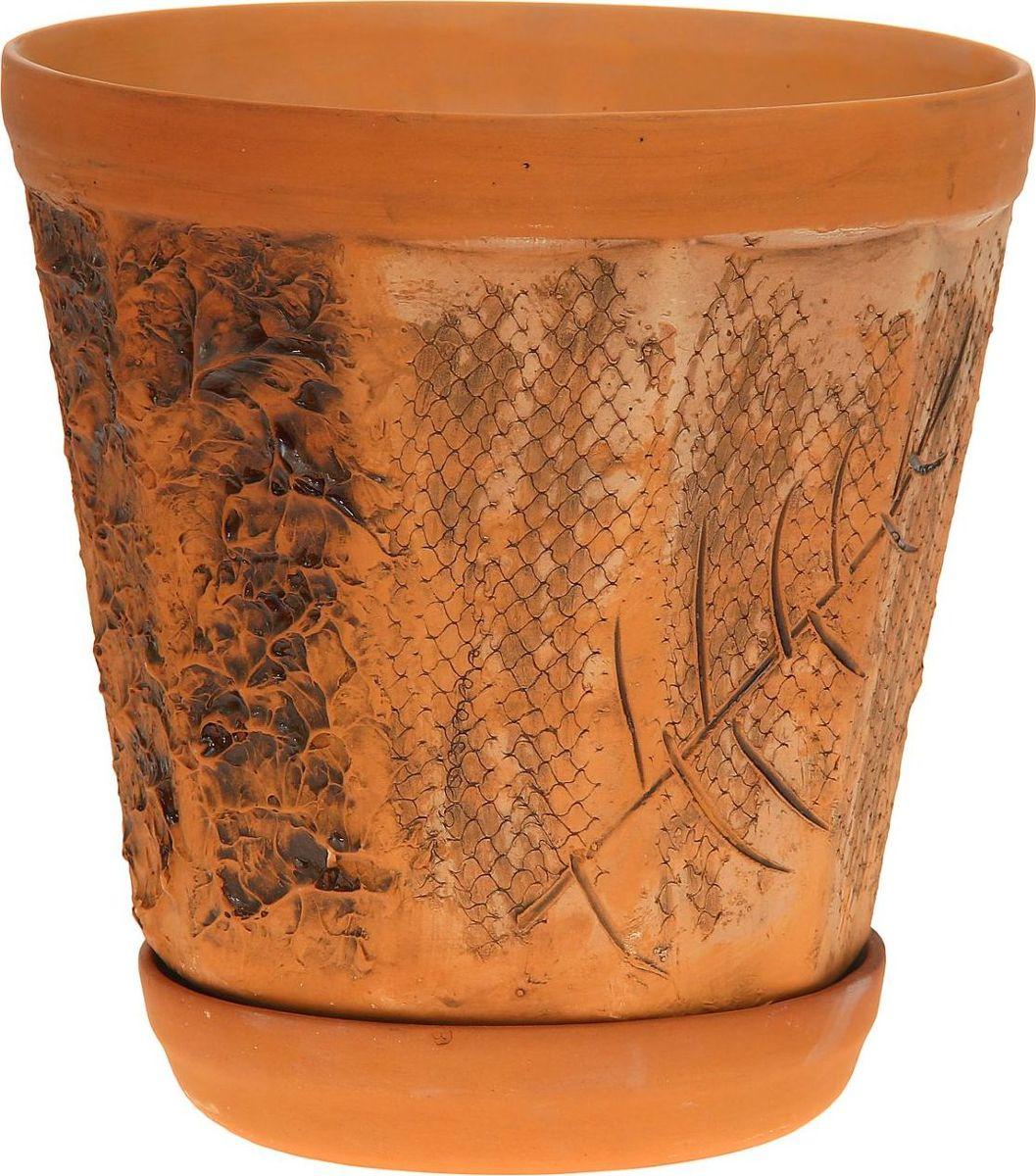 Кашпо Арман, 6 л1181981Комнатные растения — всеобщие любимцы. Они радуют глаз, насыщают помещение кислородом и украшают пространство. Каждому из них необходим свой удобный и красивый дом. Кашпо из керамики прекрасно подходят для высадки растений: за счет пластичности глины и разных способов обработки существует великое множество форм и дизайнов пористый материал позволяет испаряться лишней влаге воздух, необходимый для дыхания корней, проникает сквозь керамические стенки! позаботится о зеленом питомце, освежит интерьер и подчеркнет его стиль.